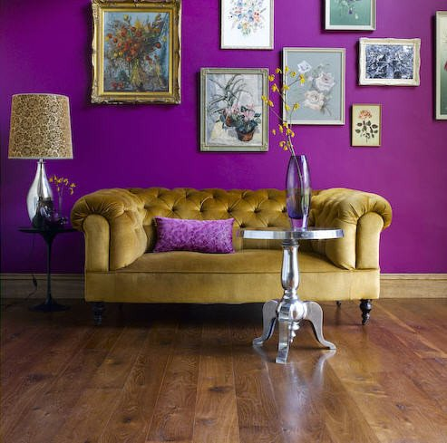 Purple Wall Decor Living Room Awesome Nature and Art Show Us How to Design with Purple