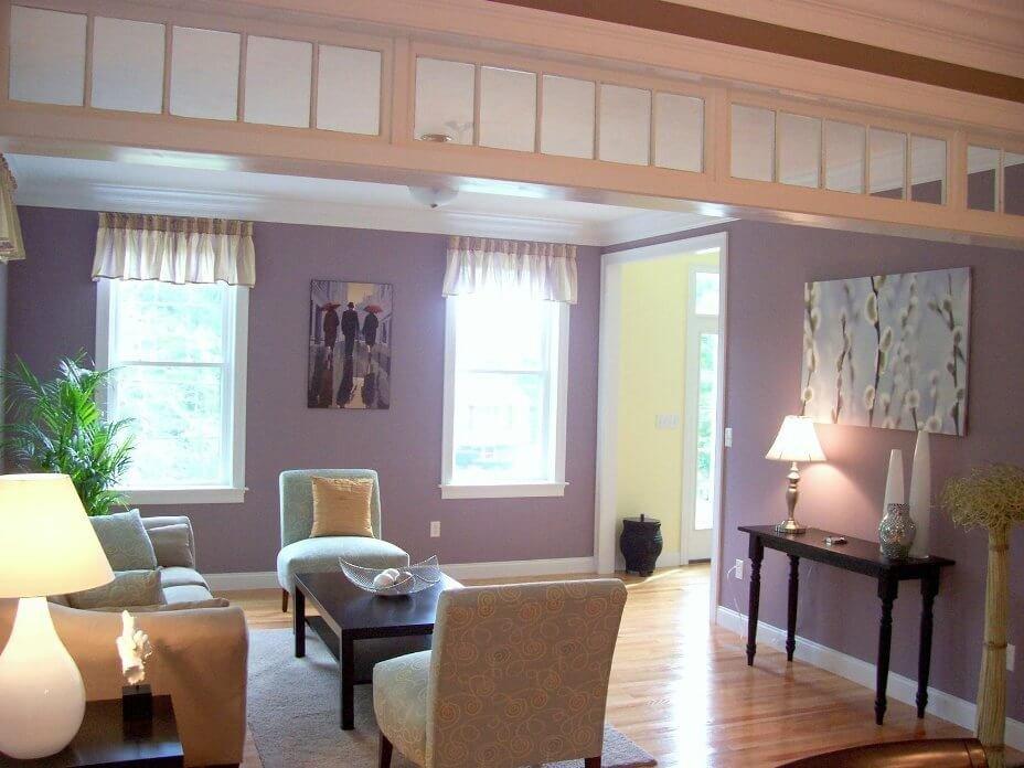Purple Wall Decor Living Room Elegant 10 Chic Purple Living Room Interior Design Ideas S