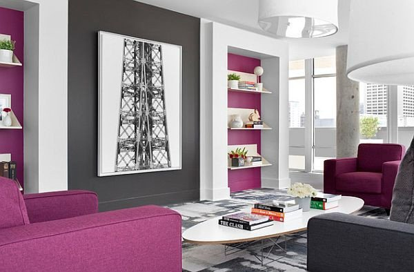 Purple Wall Decor Living Room Lovely How to Decorate with Purple In Dynamic Ways