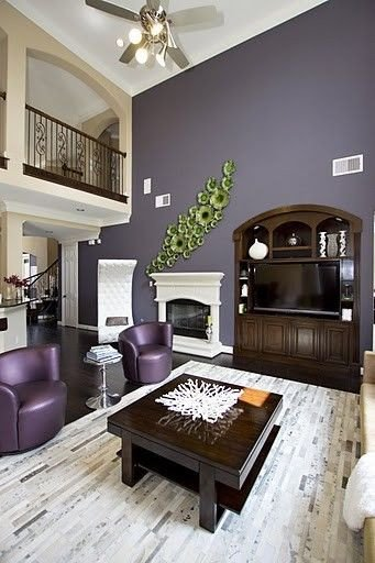 Purple Wall Decor Living Room Luxury 1000 Images About Purple Living Room Ideas On Pinterest