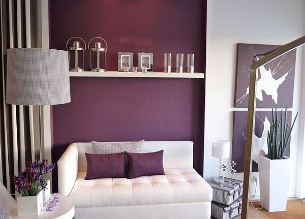 Purple Wall Decor Living Room New How to Decorate with Purple In Dynamic Ways