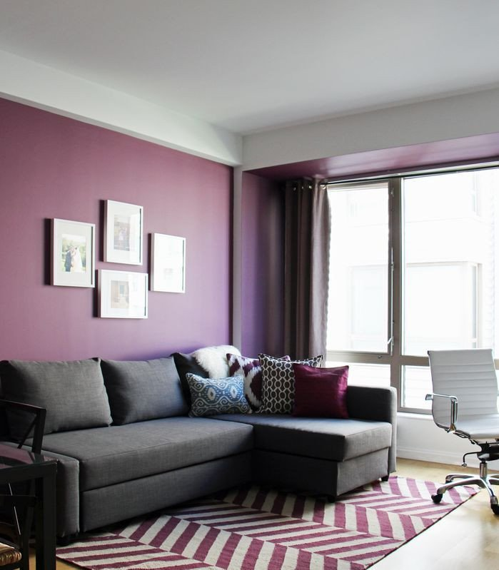 Purple Wall Decor Living Room Unique 17 Best Ideas About Purple Living Rooms On Pinterest