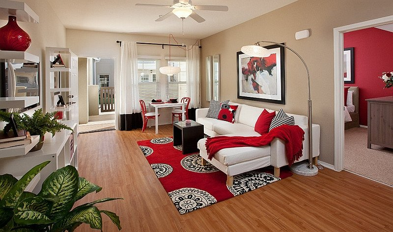 Red Decor for Living Room Best Of Red Black and White Interiors Living Rooms Kitchens