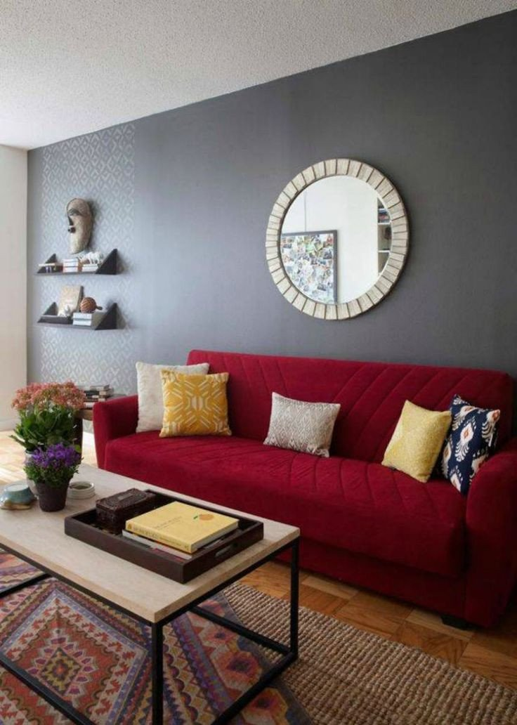 Red Decor for Living Room Lovely Best 25 Red sofa Decor Ideas On Pinterest