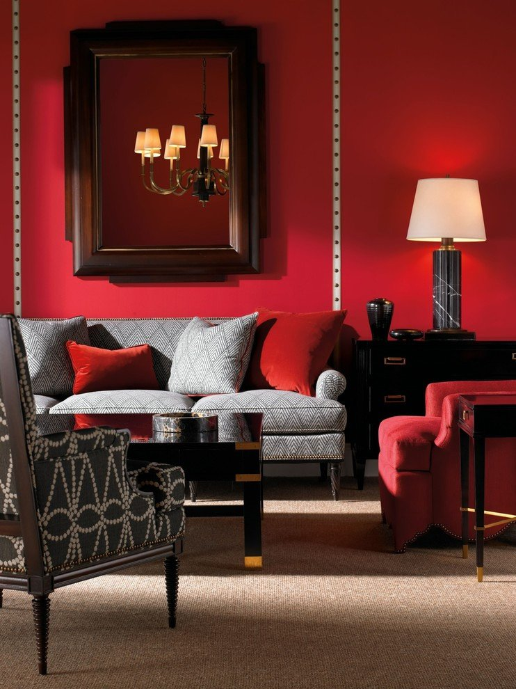 Red Decor for Living Room New Red Living Rooms Design Ideas Decorations S