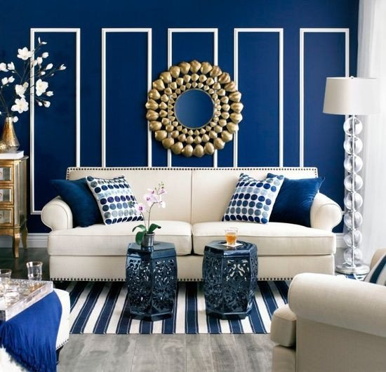 Royal Blue Living Room Decor Beautiful 25 Best Ideas About Royal Blue Walls On Pinterest