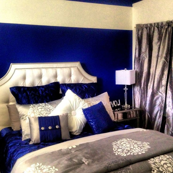 Royal Blue Living Room Decor Inspirational Best 25 Royal Blue Bedrooms Ideas On Pinterest
