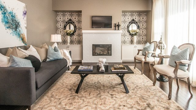 Rustic Chic Decor Living Room Fresh Rustic Chic Eclectic Living Room Calgary by