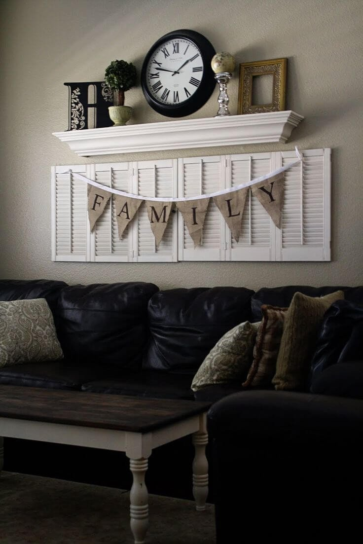 Rustic Living Room Wall Decor Fresh 33 Best Rustic Living Room Wall Decor Ideas and Designs