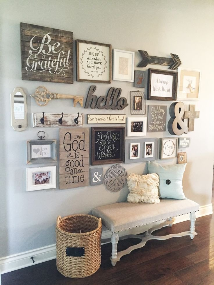 Rustic Living Room Wall Decor Unique 23 Rustic Farmhouse Decor Ideas