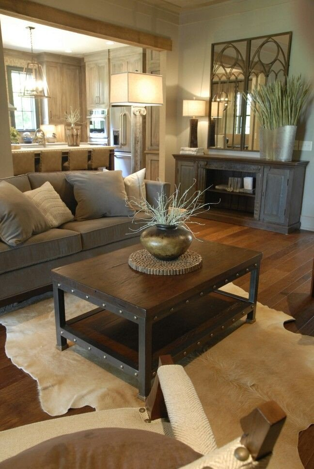 Rustic Modern Decor Living Room Elegant Rustic Decorating Ideas
