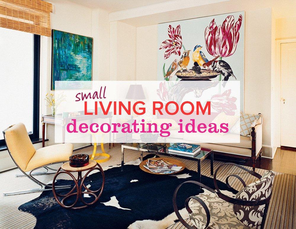 Small Living Room Decor Ideas Unique 11 Small Living Room Decorating Ideas