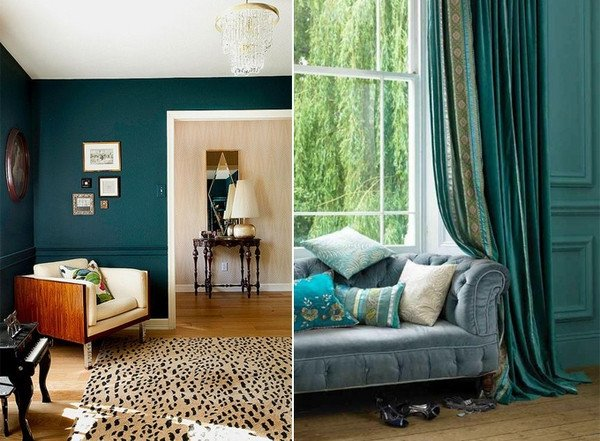 Teal Decor for Living Room Inspirational Teal Living Room Design Ideas – Trendy Interiors In A Bold