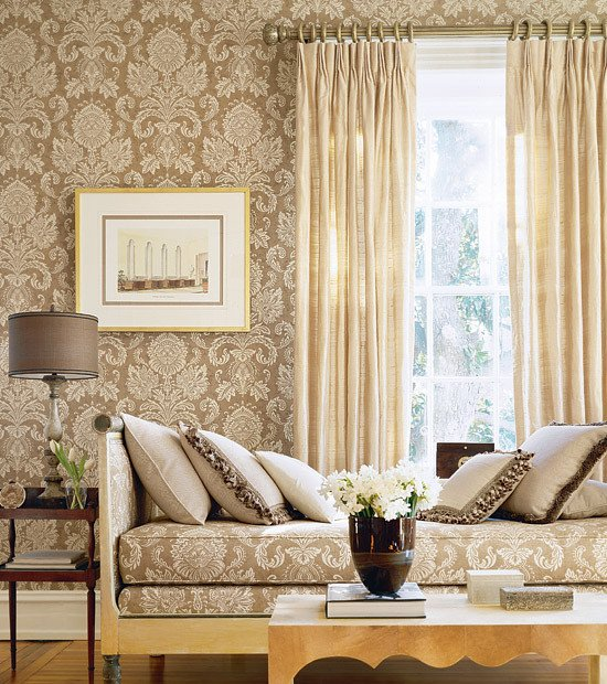 Wallpaper for Living Room Ideas Elegant Magnificent or Egregious February 2012