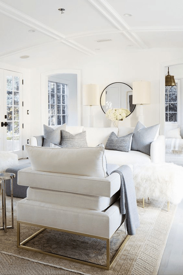 White Living Room Decor Ideas Beautiful Benjamin Moore Simply White
