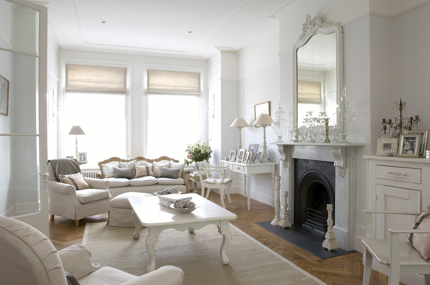 White Living Room Decor Ideas Beautiful White Traditional Living Room Living Room Design Ideas