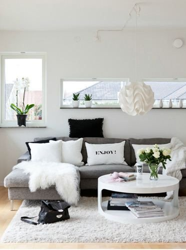 White Living Room Decor Ideas Inspirational 48 Black and White Living Room Ideas Decoholic