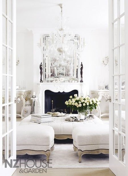 White Living Room Decor Ideas Luxury All White Rooms Decorating with the Color White