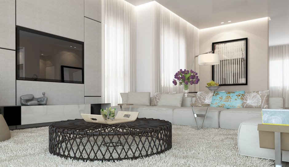 White Living Room Decor Ideas Unique White Living Room Decor Scheme
