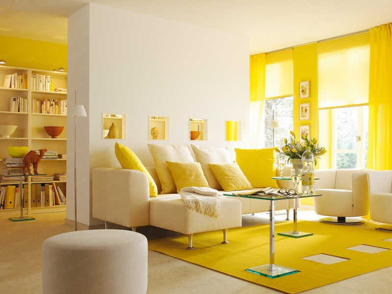 Yellow Decor for Living Room Awesome Yellow Room Interior Inspiration 55 Rooms for Your