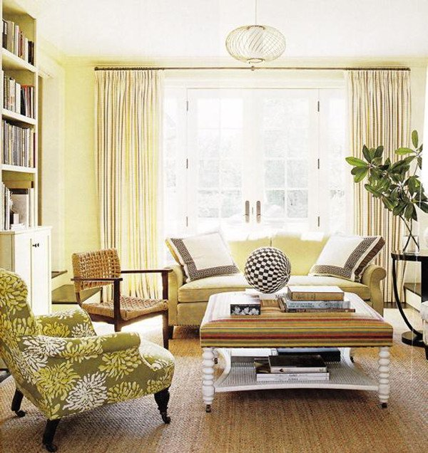 Yellow Decor for Living Room Fresh Sunny Yellow Living Room Design Ideas
