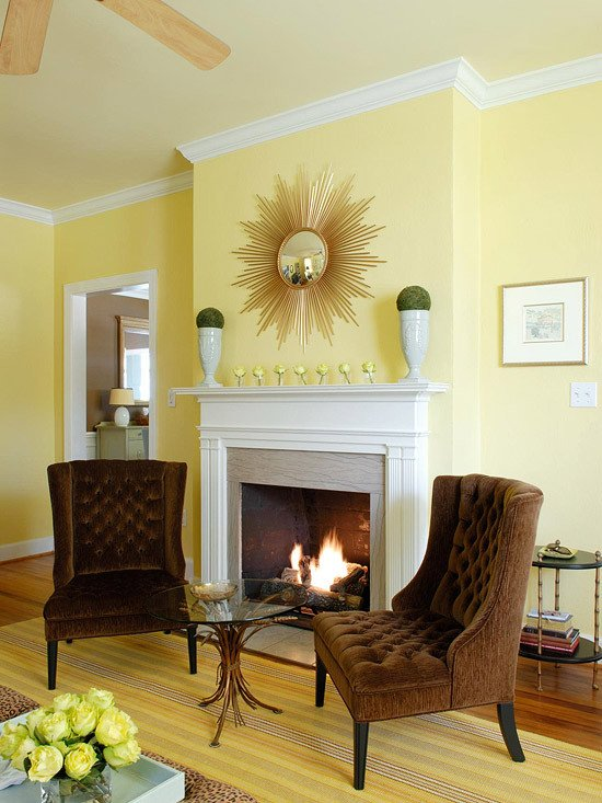 Yellow Decor for Living Room Fresh Yellow Living Room Design Ideas