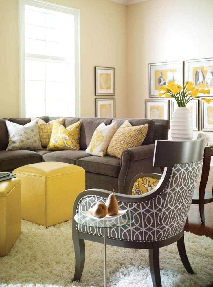Yellow Decor for Living Room Inspirational Yellow Decor Becoration