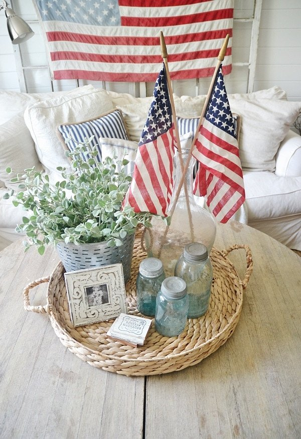 4th Of July Home Decor Best Of 4th Of July Decor In the Living Room Liz Marie Blog