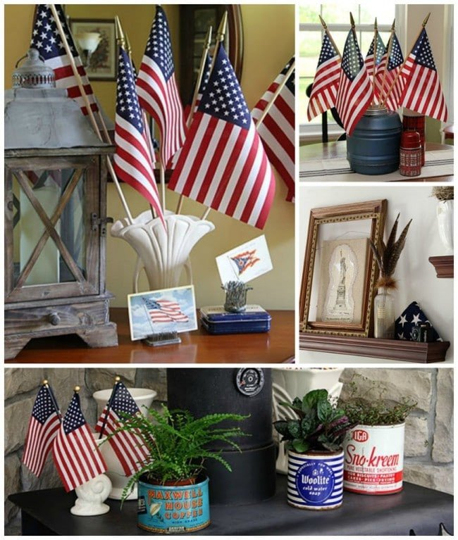 4th Of July Home Decor Elegant An Eclectic Patriotic House tour House Of Hawthornes