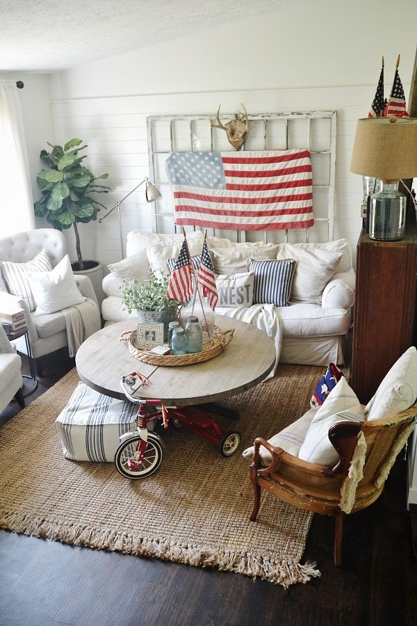 4th Of July Home Decor Fresh 4th Of July Decor In the Living Room Liz Marie Blog