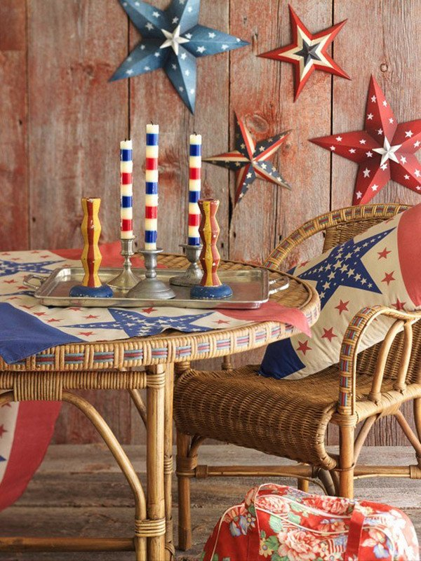 4th Of July Home Decor Inspirational 4th Of July Home Decor Ideas