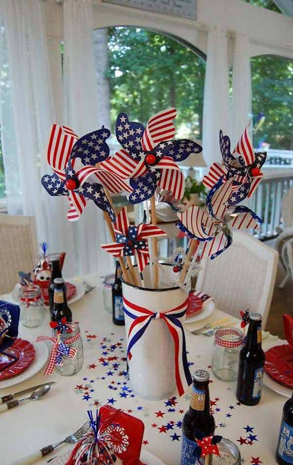 4th Of July Home Decor Lovely 45 Decorations Ideas Bringing the 4th Of July Spirit Into Your Home