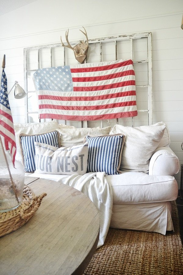4th Of July Home Decor Luxury 4th Of July Decor In the Living Room Liz Marie Blog