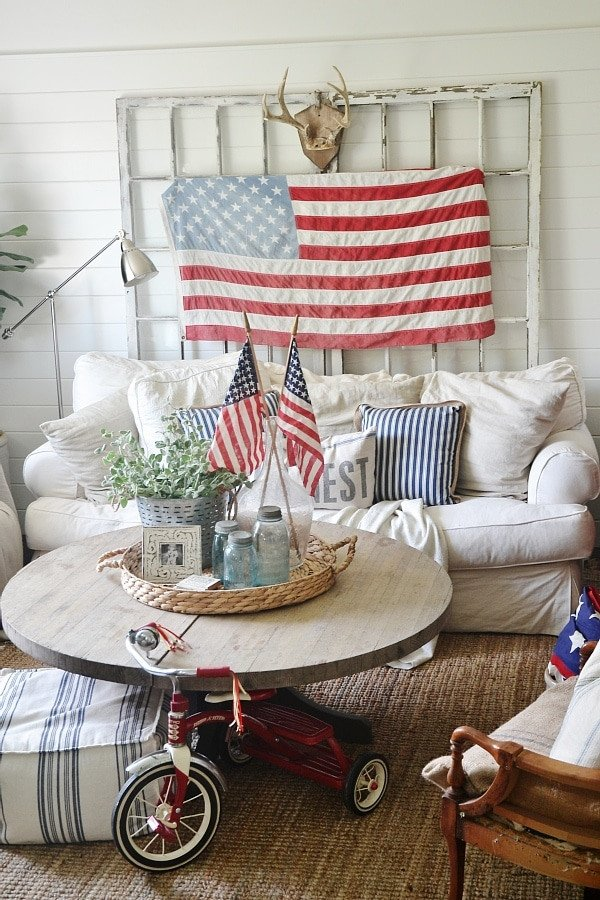 4th Of July Home Decor Luxury 4th Of July Decor In the Living Room