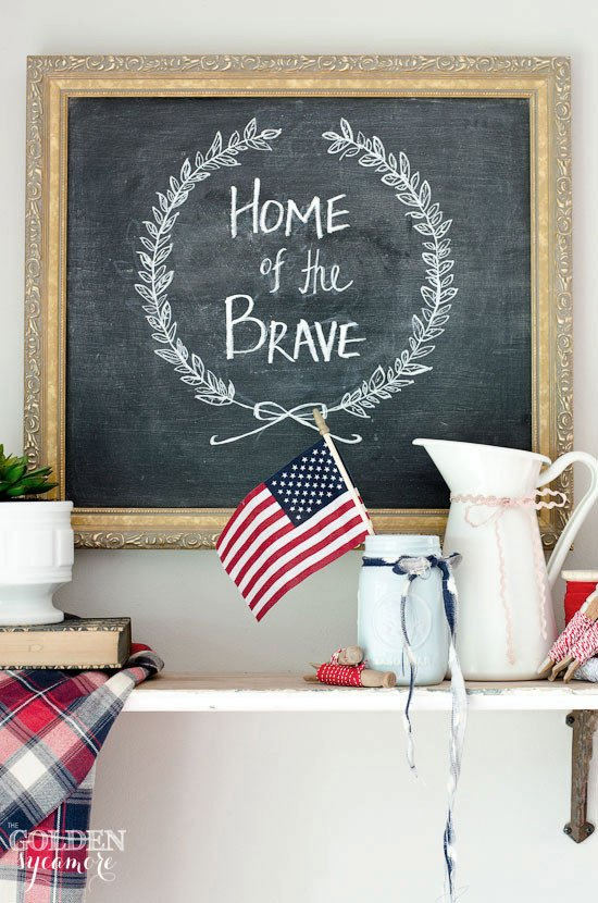 4th Of July Home Decor Luxury 4th Of July Decor the Golden Sycamore