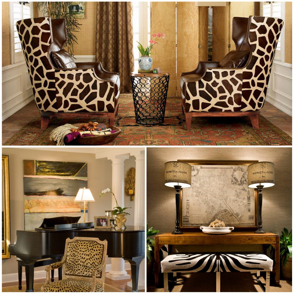 Animal Print Furniture Home Decor Luxury Animal Print Pattern Trend Out Of Africa and Into Your Home
