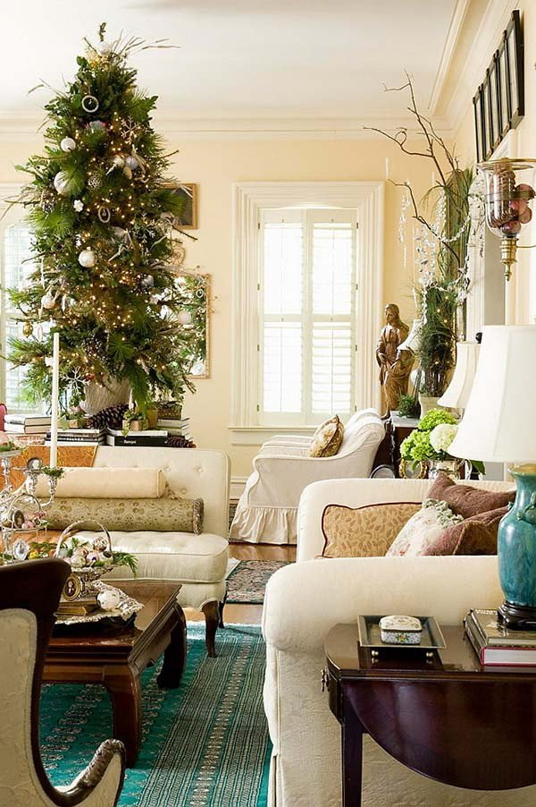 Apartment Living Room Decor Ideas Beautiful 50 Best Christmas Living Room Decor Ideas