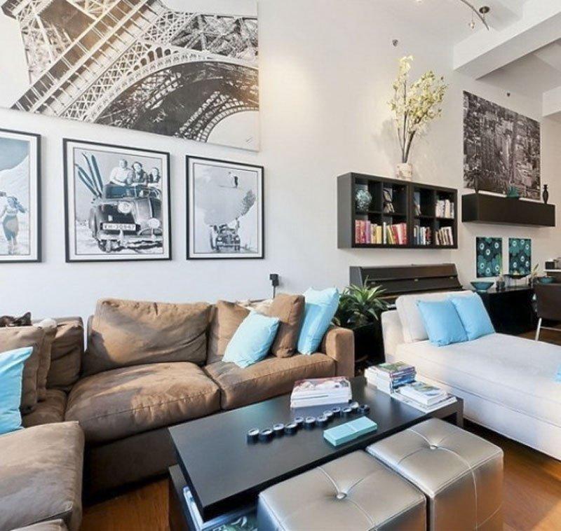 Apartment Living Room Decorating New Cool Loft Apartment Decorating Ideas