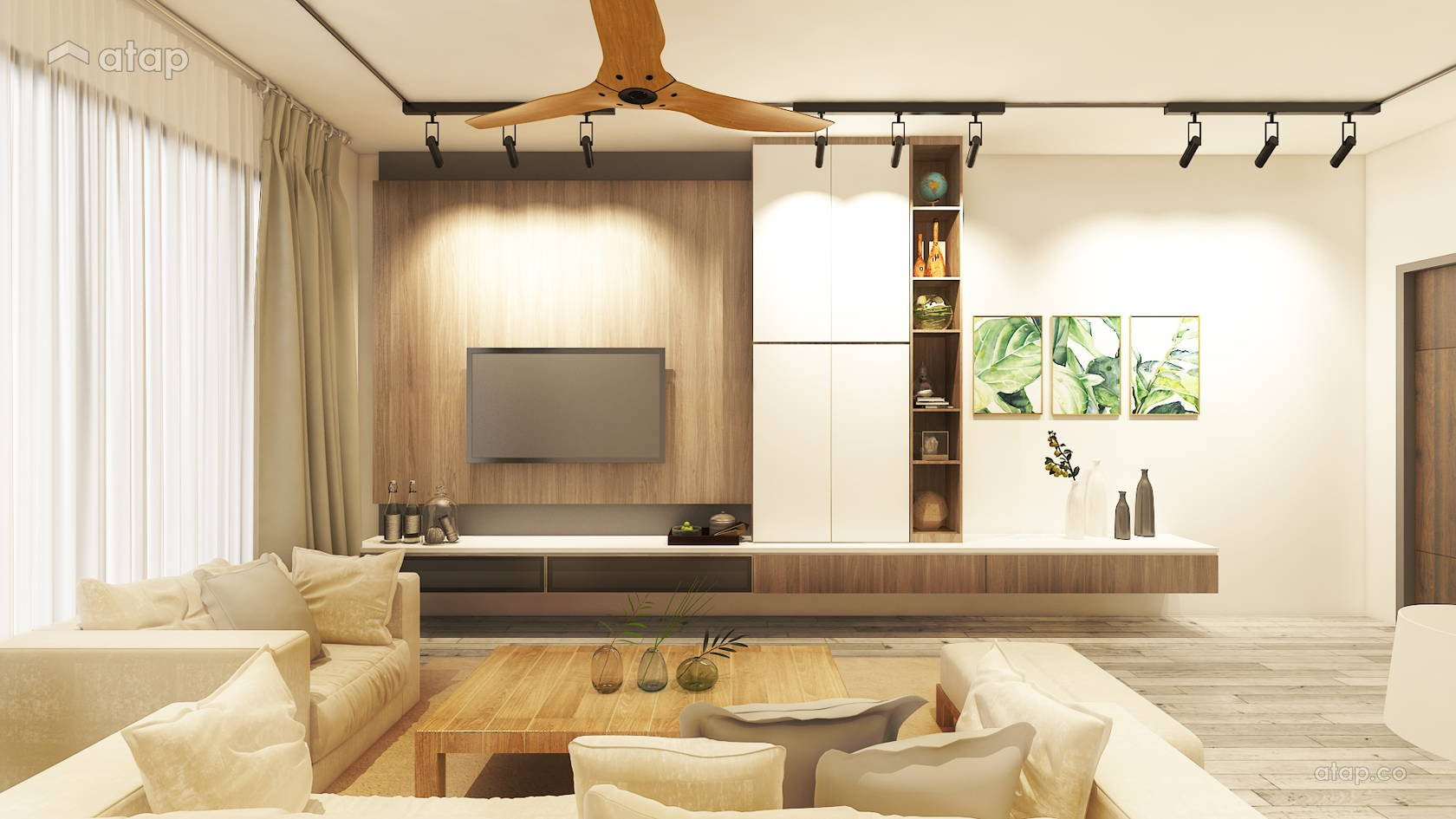 Apartment Living Room Ideas Lovely Contemporary Living Room Apartment Design Ideas & Photos Malaysia