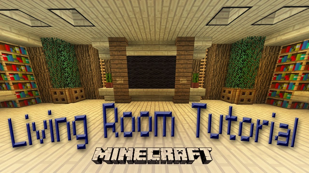 Awesome Small Living Room Ideas Awesome Minecraft How to Make An Awesome Living Room Design