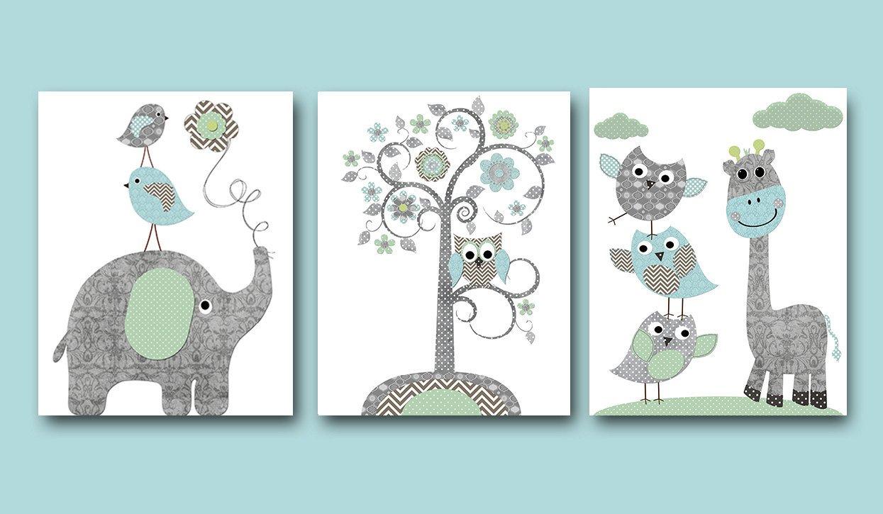 Baby Boy Nursery Wall Decor Luxury Baby Boy Nursery Art Print Nursery Wall Art Kids Wall Decor