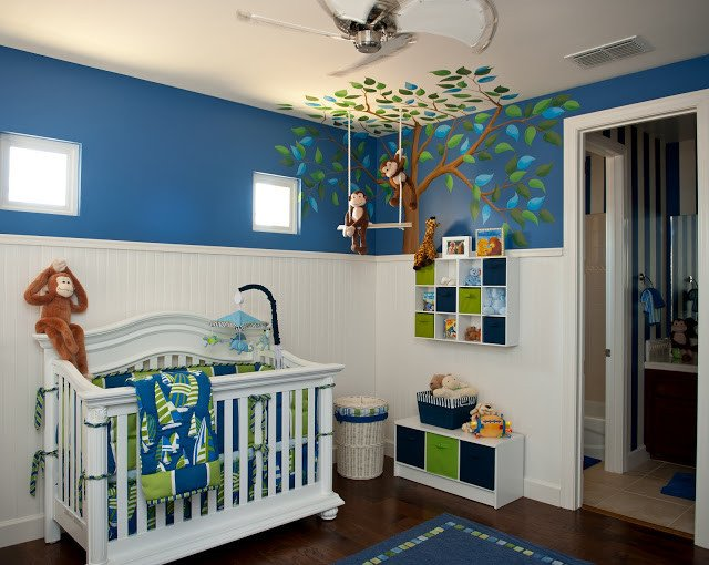 Baby Boy Room Decor Ideas Beautiful Inspired Monday Baby Boy Nursery Ideas Classy Clutter
