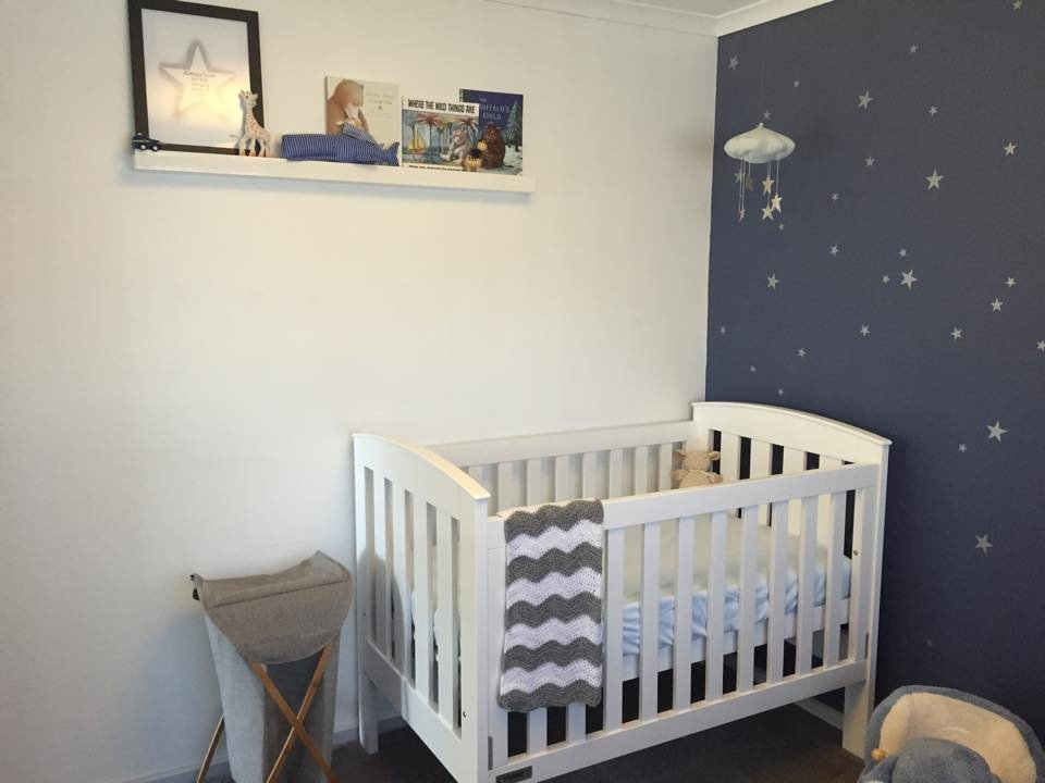 Baby Boy Room Decor Ideas Beautiful Starry Nursery for A Much Awaited Baby Boy Project Nursery