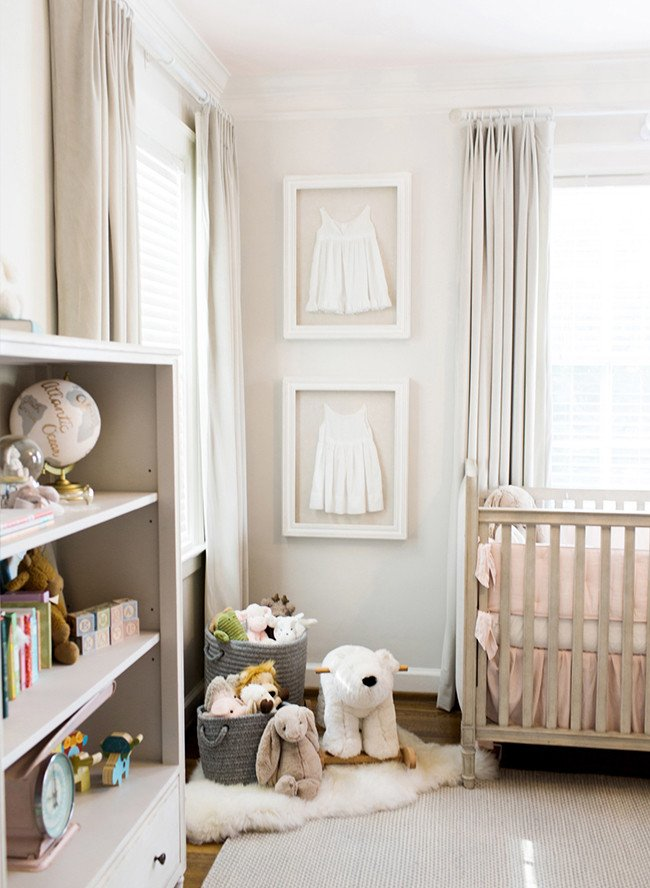 Baby Girl Nursery Decor Ideas Beautiful 15 soft and Feminine Baby Girl Nursery Ideas