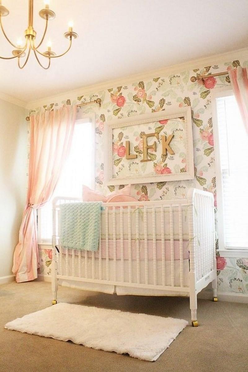 Baby Girl Nursery Decor Ideas Beautiful 16 Adorable Baby Girl's Nursery Ideas Rilane