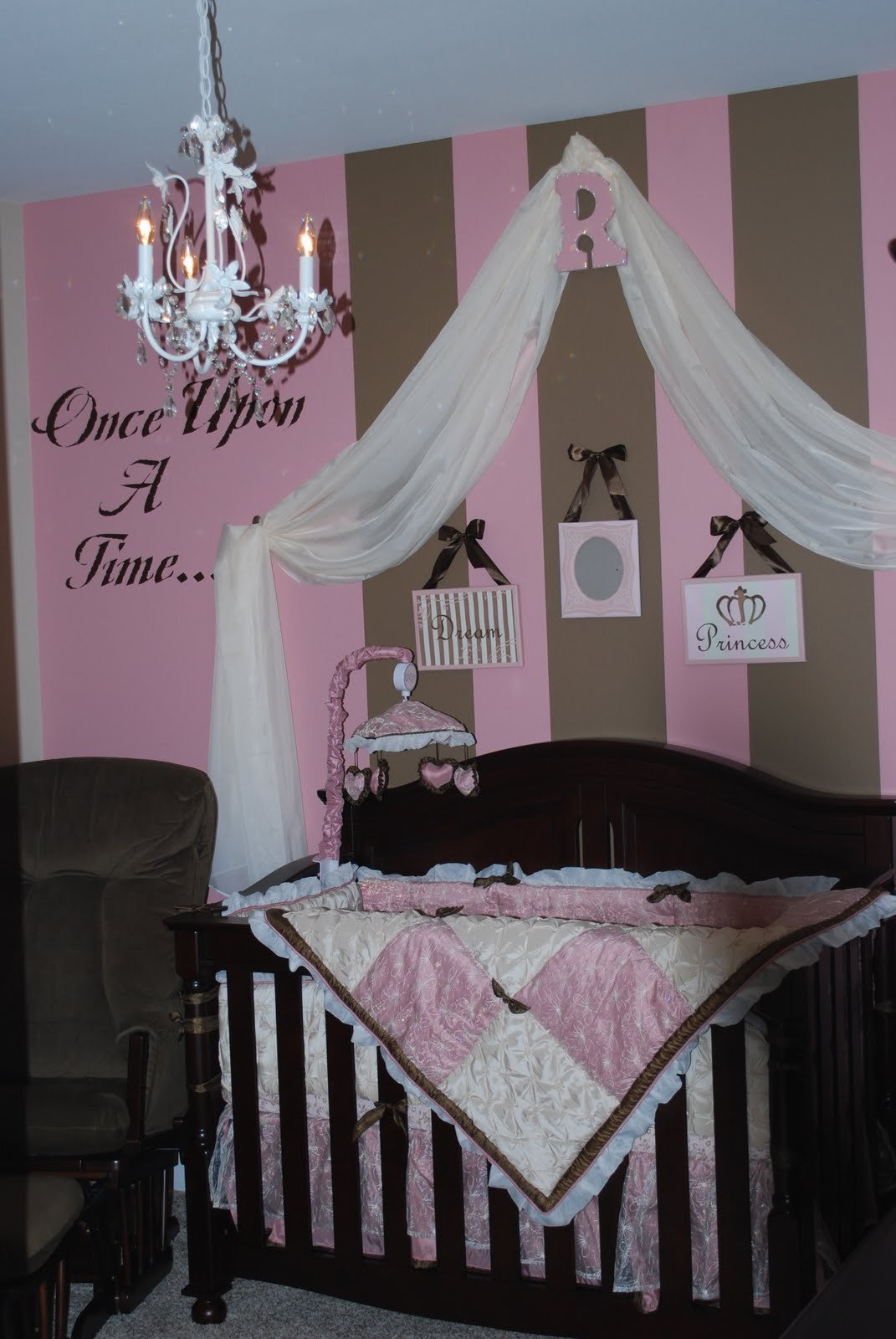 Baby Girl Nursery Decor Ideas Inspirational Home Sweet Home Pink & Brown Baby Nurseries