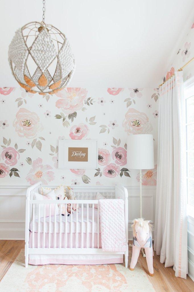 Baby Girl Nursery Decor Ideas Luxury 25 Floral themed Nursery for Girl Baby