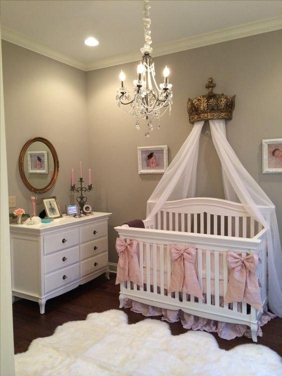 Baby Girl Nursery Decor Ideas Unique 13 Queen themed Baby Girl Room Ideas