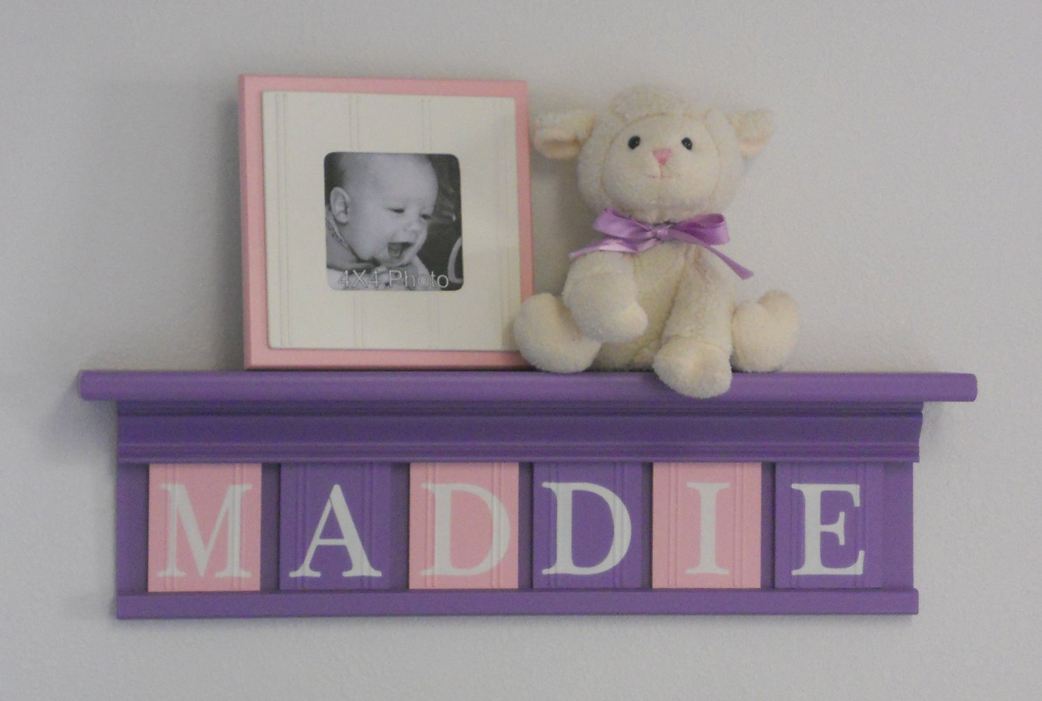 Baby Girl Room Wall Decor Awesome Purple Pink Nursery Decor Baby Girl Nursery Wall Art Shelf