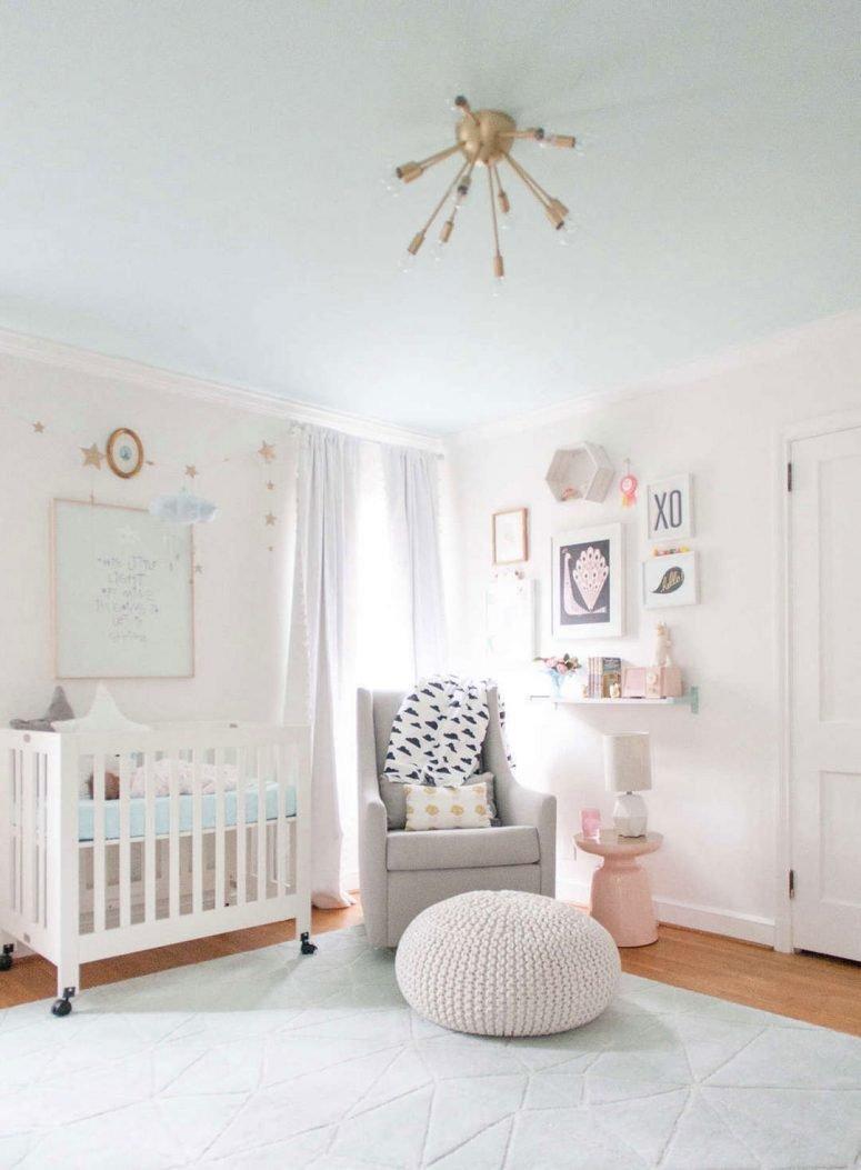 Baby Girl Room Wall Decor Beautiful Baby Girl Nursery Decor Ideas